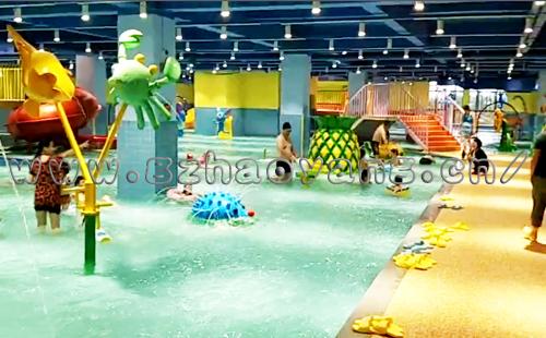 室内水上乐园可以突破水上乐园只能在夏季营业的时间封印!